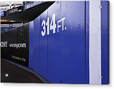 Old Yankee Stadium Short Porch Acrylic Print by Paul Plaine