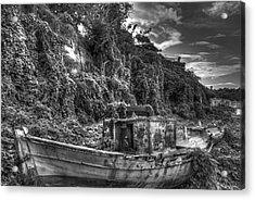 Oldboat Acrylic Print
