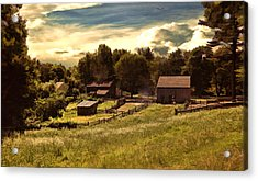 Olden Times Acrylic Print by Lourry Legarde