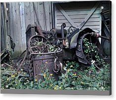 Older Days Acrylic Print by Janice Spivey