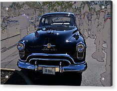 Olds 50 Acrylic Print by Larry Bishop