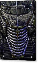 Oldsmobile Reflected Acrylic Print by Nigel Jones
