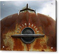 Oldsmobile Acrylic Print by Steve McKinzie