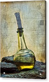 Olive Oil Acrylic Print by Robin-Lee Vieira
