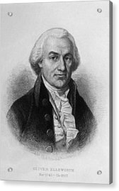Oliver Ellsworth 1745-1807, U.s Acrylic Print by Everett