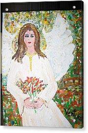 Olivia The Angel Acrylic Print