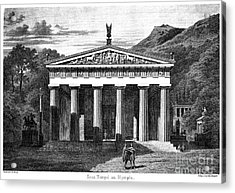 Olympia: Temple Of Zeus Acrylic Print by Granger