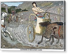 Olympic Games, Antiquity Acrylic Print by Granger