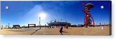 Olympic Park  Acrylic Print by Keith Sutton