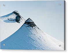 Acrylic Print featuring the photograph Olympic Snow by Andrew  Michael