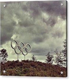 #olympicpark #olympics #london2012 Acrylic Print