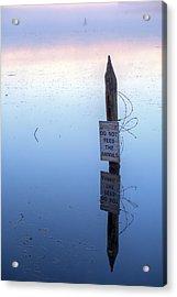 Ominous II Acrylic Print by JC Findley