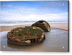 On A Beach Acrylic Print by Svetlana Sewell