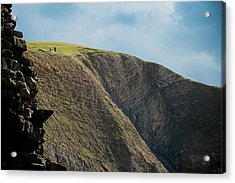 Acrylic Print featuring the photograph On Hills They Walk by Justin Albrecht