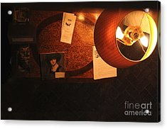 Acrylic Print featuring the photograph On The Desk by Sherry Davis