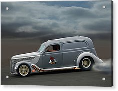 On The Flats Acrylic Print by Bill Dutting