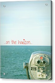 Acrylic Print featuring the photograph On The Horizon by Robin Dickinson
