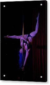 On The Pole Acrylic Print by Lee Stickels