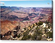 On The Rim Acrylic Print
