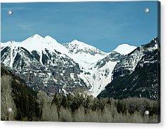 On The Road To Telluride Acrylic Print by Lorraine Devon Wilke