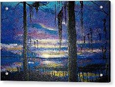 On The Shore Of Waccamaw Acrylic Print