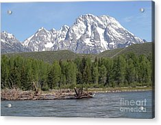 Acrylic Print featuring the photograph On The Snake River by Living Color Photography Lorraine Lynch
