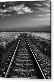 On The Track II. Acrylic Print by Jaromir Hron
