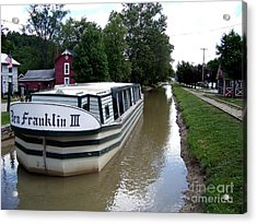 On The Whitewater Canal Acrylic Print by Charles Robinson