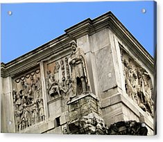On Top Of The Arch Of Constantine Acrylic Print