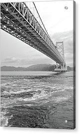 Onaruto Bridge Acrylic Print by Miguel Castaneda