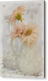 Once Upon A Dream  Acrylic Print by Sandra Rossouw