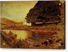 Once Upon A Time. Somewhere In Wicklow Mountains. Ireland Acrylic Print by Jenny Rainbow