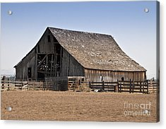 Once Was New Acrylic Print by Larry Keahey