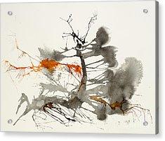 One Acrylic Print by David W Coffin