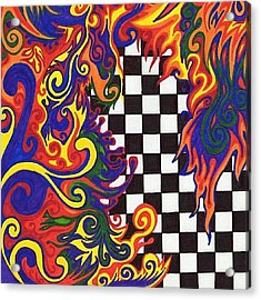 One Of A Kind Sharpie Art From Acrylic Print