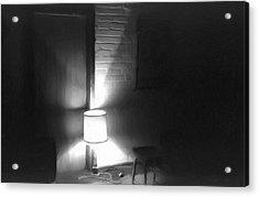 One Room One Light -- Ein Zimmer Ein Licht Acrylic Print by Arthur V Kuhrmeier