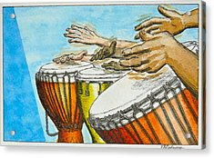 One Song Many Hands Acrylic Print