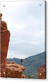 Only A Photographer Would Do.. Acrylic Print