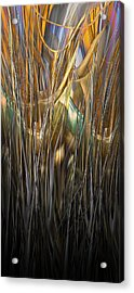 Onyx Growth II Acrylic Print