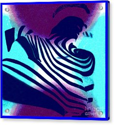 Op Art Design 1 Acrylic Print by Christine Perry