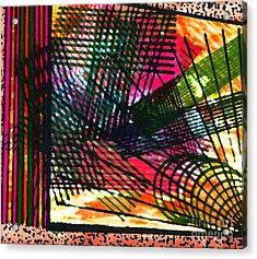 Op Strings Acrylic Print by TB Schenck