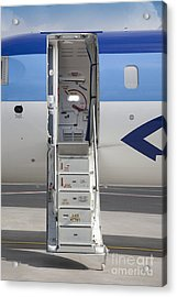 Open Airplane Stairs Acrylic Print by Jaak Nilson