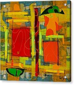 Open Door Acrylic Print by Lynne Taetzsch