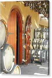 Open Vineyard Door Acrylic Print