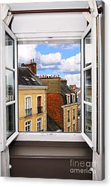 Open Window Acrylic Print by Elena Elisseeva