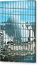 Opera House Reflection Acrylic Print by Bob and Nancy Kendrick