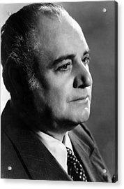 Opera Singer Beniamino Gigli. Ca 1955 Acrylic Print by Everett