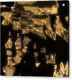 Operating Shadow And Power Acrylic Print by Fania Simon