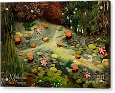 Ophelia Acrylic Print by Eugene James