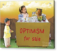 Optimism For Sale Acrylic Print
